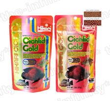 Hikari Cichlid Gold Fish Food Color Larger Tropical Floating Pellet Baby Mini S