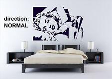 Sexy Marilyn Monroe Decalcomania adesivo parete in vinile rimovibili decorazione Art Decor UK