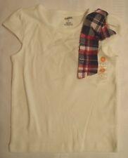 GYMBOREE Girls Size 4 5 7 or 10 Choice Homecoming Kitty Short Sleeve Ivory Shirt