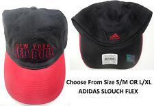 MLS New York Red Bulls Adidas Slouch Flex Fit Hat Cap NEW
