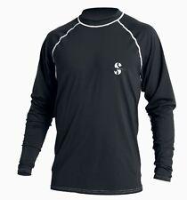 Scubapro uv-shirt ample Fit im Tee-shirt Partie Hommes (Noir) - Neuf