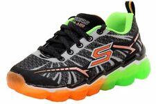 Skechers Boy's Skech Air - Turbo Shock Fashion Black/Lime Sneakers Shoes