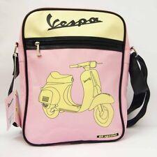VESPA-Borsello donna- uomo -Verticale-Tracolla-scuola-lavoro-Multi rosa  921