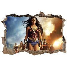 Stickers 3D Wonder Woman  réf 23828