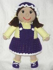 *Little Miss Doll crochet PATTERN INSTRUCTIONS