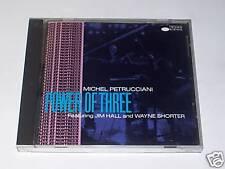 CD - MICHEL PETRUCCIANI - POWER OF THREE - Blue Note