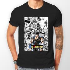 KEN il Guerriero Manga Hokuto no Ken Anime T-shirt T-shirt Tee Tutte le Taglie