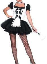 Ladies Sexy French Maid Women/ Ladies Fancy Dress Costume- size 8-10