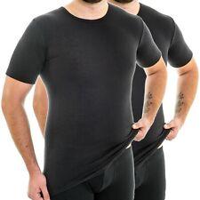 cb0f4675b9cfe4 HERMKO 63847 2er Pack Herren Business Funktionsunterhemd extralang aus  Polyester