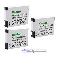 Kastar Replacement Battery for AHDBT 001 AHDBT 002 & Gopro HD Motorsports HERO