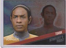 Star Trek Voyager Quotable F9 Tuvok Starfleets Finest 263/399 card
