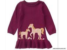 NEW Gymboree PLUM PONY Horse knit dress NWT sizes 18-24 mths, 2T, 3T, 4T, 5T