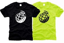 Handgranate Bomb - Herren-T-Shirt, Gr. S bis XXL
