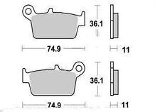 Plaquette Frein HONDA CR 125 250 500 R/CR 80 85 R PETITES ROUES RT-R2 1996-2002
