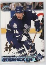 1998 Pacific Paramount Holo-Electric 224 Sergei Berezin Toronto Maple Leafs Card