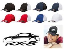 Mazda RX8 Sports Car Classic Color Outline Design Hat Cap