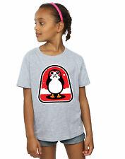 Star Wars Girls The Last Jedi Porgs Badge T-Shirt