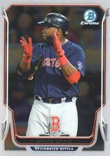 2014 Bowman Chrome Baseball #140 David Ortiz Boston Red Sox