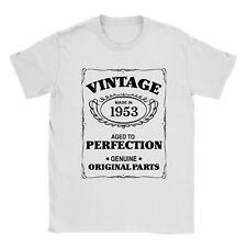 64th Cumpleaños Camiseta nacido en 1953 para Hombres Presente Regalo edad edad a la perfección