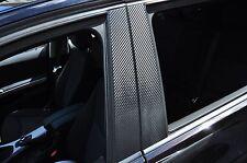 6x Carbon schwarz Tür leisten B Säule Verkleidung Folie passend für Chrysler