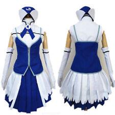 Anime Fairy Tail Juvia Loxar Cosplay Costume free shipping