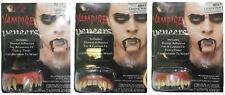 Vampire Veneers Teeth Scary Fangs Fancy Dress Party Costume With Dental Putty