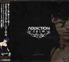 Addiction Crew - Lethal - Japan CD+2BONUS - NEW
