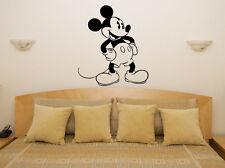 TOPOLINO DISNEY per bambini Camera da letto Nursery decalcomania adesivo parete
