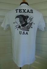 """Dickies  - """"South Texas"""" - White -   Mens Crew Neck TShirt - NWT"""