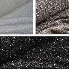 Loose Tessuto a Maglia Glitter Scialle VARI COLORI * per metro