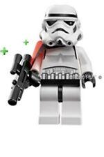 LEGO STAR WARS TATOOINE STORMTROOPER FIGURE + PAULDRON & GUN - 7659 - 2007 - NEW