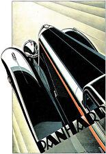 Art Poster - 1927 Panhard-Levassor X74 - Deco Car Advert A3 Print