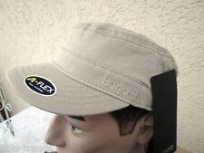 Armycap Kubacap von Bugatti Hellbeige und Olivegrün im Army-Style Mütze Cap