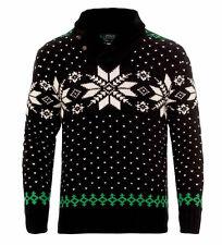$225 Polo Ralph Lauren Mens Cashmere Angora Knit Slim Snowflake Shawl Sweater