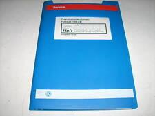 Werkstatthandbuch VW Passat B 5 Direkt Einspritzanlage Vorglühanlage