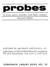 Gernsback Library #54 - Probes - VTVMs and Oscilloscopes * CDROM * PDF