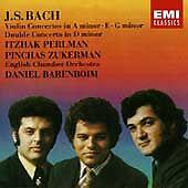 Bach Violin Concertos Perlman Zukerman Barenboim English Chamber Orchestra