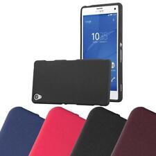 Schutz Hülle für Sony Xperia Z3 Handy Cover Case TPU Matt Bumper