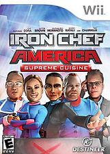 Nintendo Wii : Iron Chef America/Supreme Cuisine VideoGames