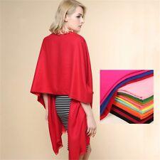 Women's Winter Long Velvet Silk Tassels Scarf Shawl Wrap 200x65cm
