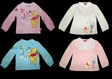 Shirt Longsleeve Disney Winnie  rosa türkis  86 92 98 104 110 116  NEU