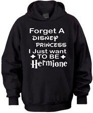 FORGET A DISNEY PRINCESS I WANNA BE HERMIONE HARRY POTTER BIRTHDAY KIDS HOODIE
