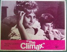 Pietro Germi THE CLIMAX (Italy 1967)  Original US lobby card