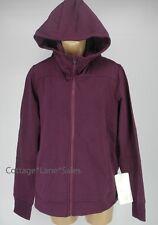 NEW LULULEMON Belle Hoodie Sweater Jacket 10 Heathered Red Grape NWT FREE SHIP