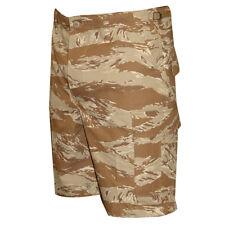 Tru-Spec Desert Tiger Stripe BDU Shorts 100% Cotton RS