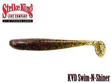 Strike King KVD Swin N Shiner Swimbait - Select Color(s) Size(s)