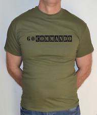 Vai Commando, CECCHINO, Esercito, softair, militare, combattere Divertente T-shirt
