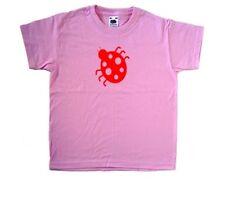 Ladybird Ladybug Pink Kids T-Shirt