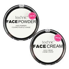 Technic White Face Powder & White Face Paint Cream Halloween Goth Stage Vampire1