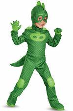 Brand New PJ Masks Superhero Gekko Deluxe Toddler Costume